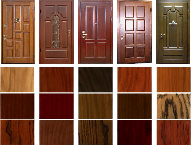 материал для отделки металлической двери