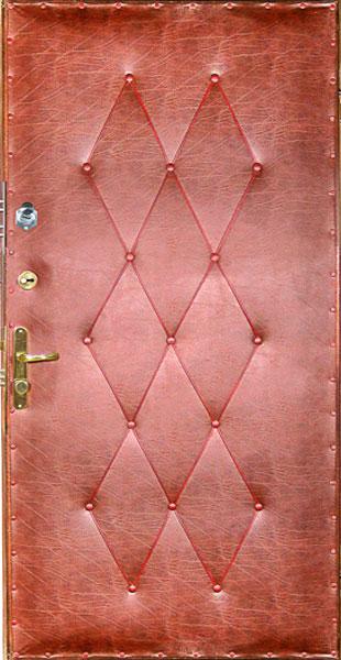 Как обшить двери своими руками