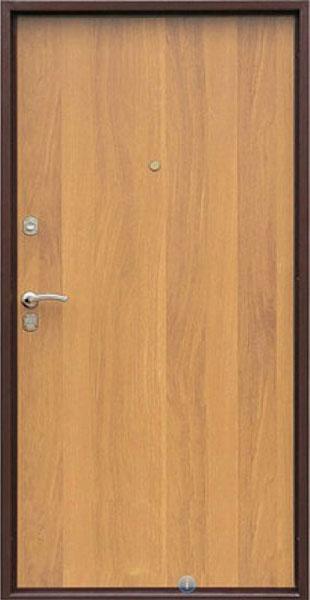 входные металлическая двери с ламинатом