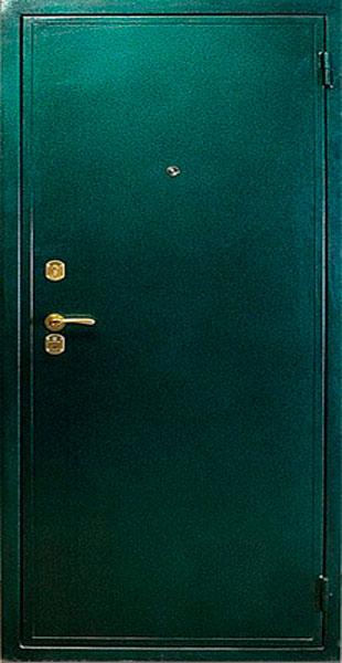 двери входные металлические зеленые