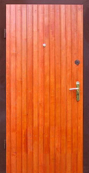 Как обшить деревянную дверь вагонкой